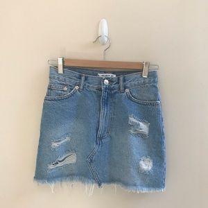 Pull and Bear Denim Skirt